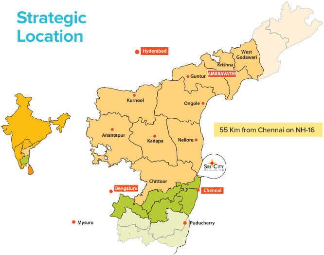 Sri City - Integrated Business City Near Chennai, India