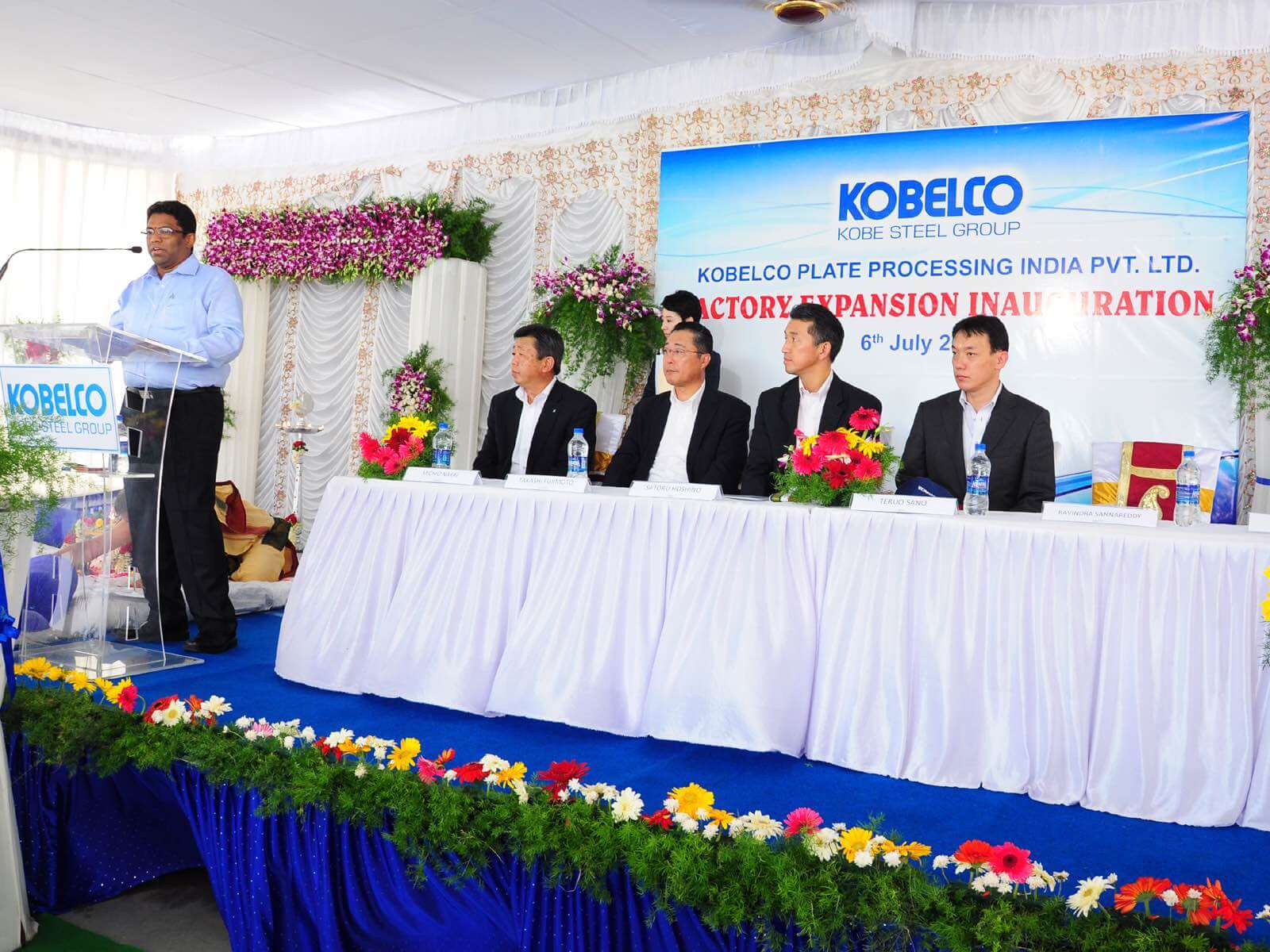 Kobelco Plate Processing & Piolax Inaugurate Additional Production