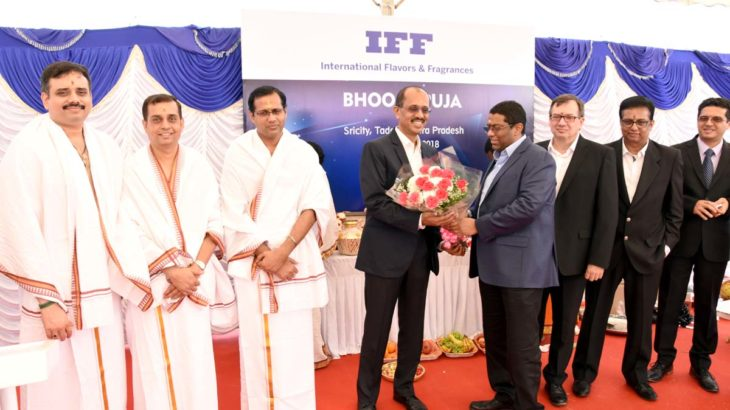 IFF Breaks Ground for Flavors/Fragrances Site in Sri City