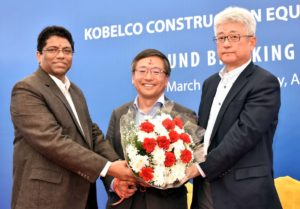 Kobelco Construction Equipment breaks ground for plant